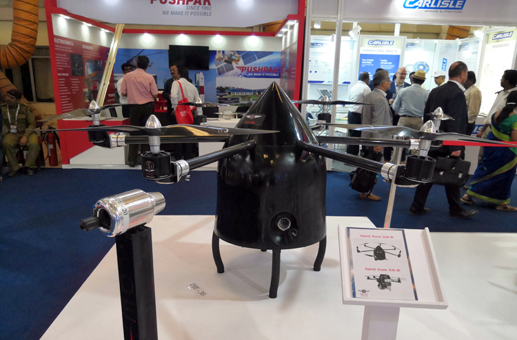 Poeir Jets Develops India's First Heavy–lift Hybrid Drones